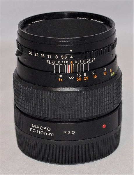 Zenza Bronica 110mm f4 Macro (excellent condition, for Bronica GS-1)
