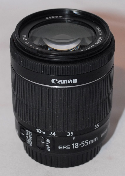 Canon 18-55mm f3.5-f5.6 IS STM - Excellent condition.