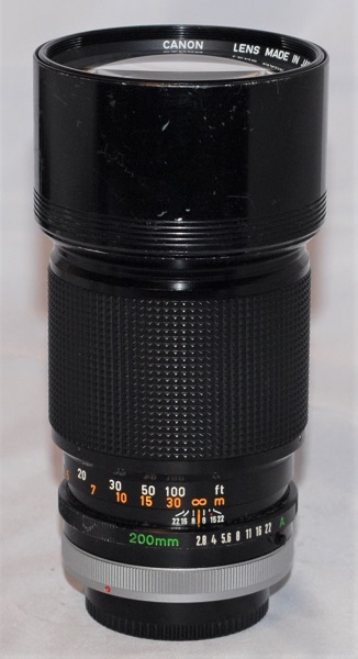 Canon 200mm f2.8 SSC
