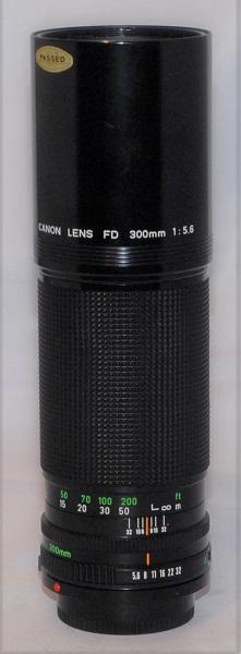 Canon 300mm f5.6