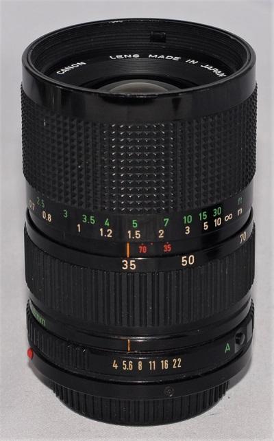 Canon 35-70mm f4