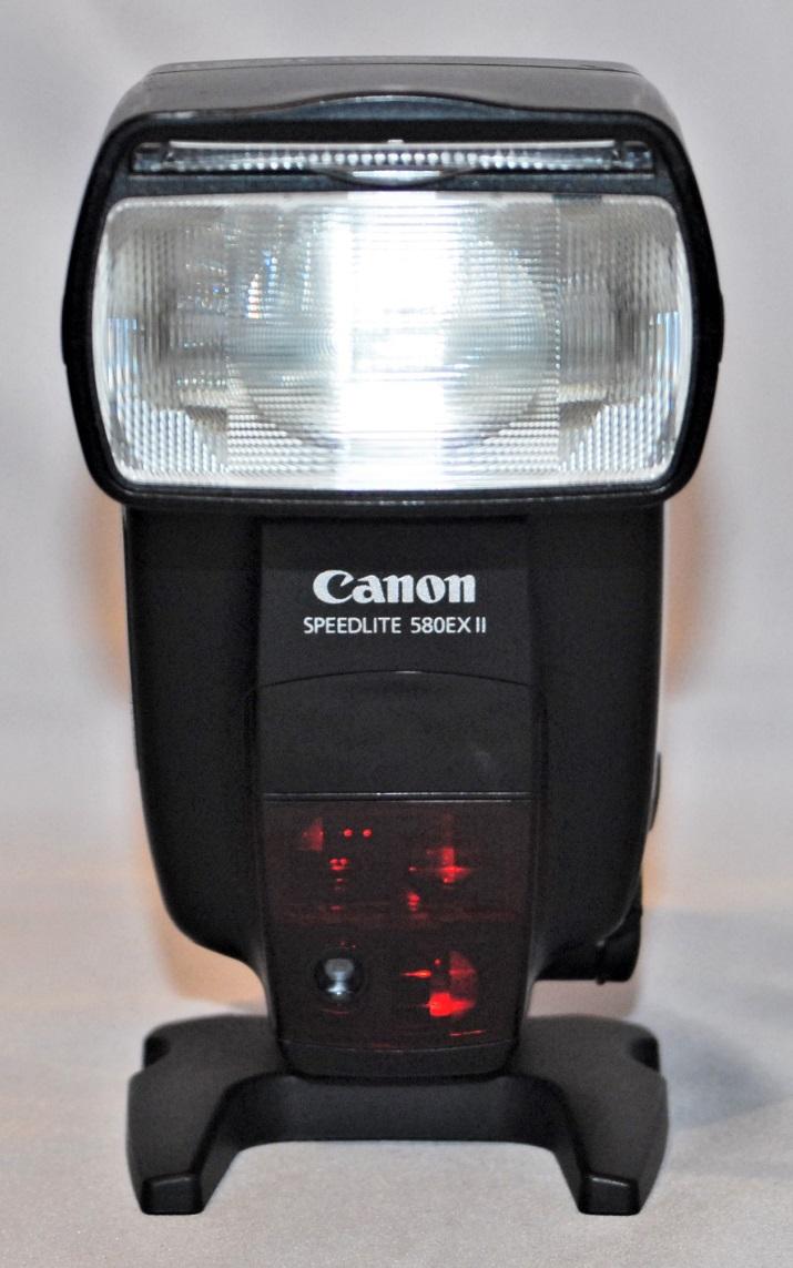 Canon Speedlite 580EX II. Excellent condition.