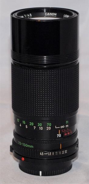 Canon 70-150mm f4.5