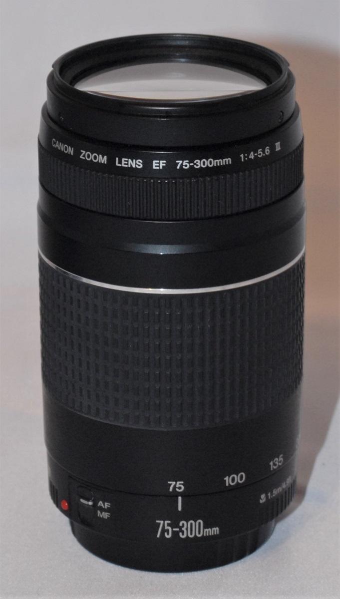 Canon 75-300mm f4-f5.6