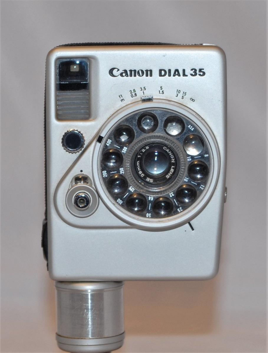 Canon Dial 35. Excellent condition.