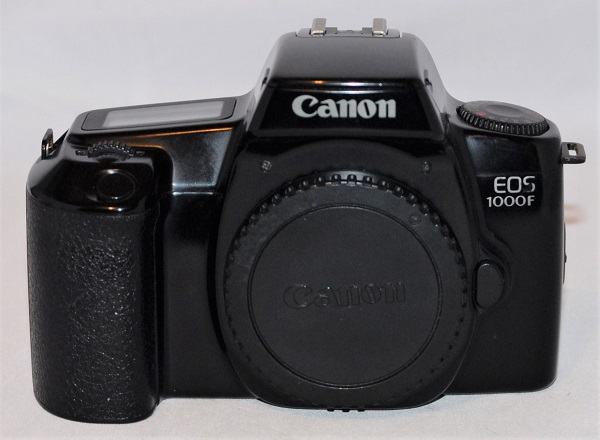Canon EOS 1000F (excellent condition).
