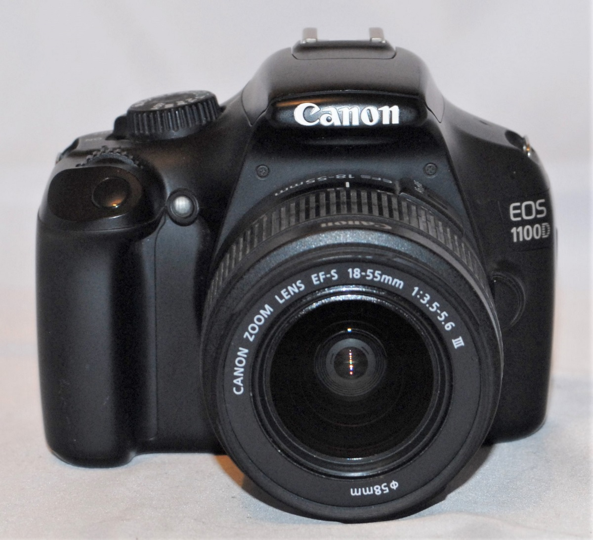 Canon EOS 1100D + 18-55mm f3.5-f5.6. Excellent condition. (SOLD)