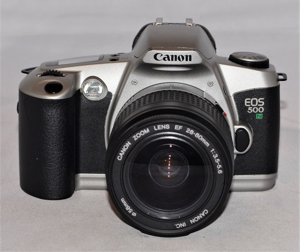 Canon EOS 500N + 28-80mm f3.5-f5.6 (excellent condition)