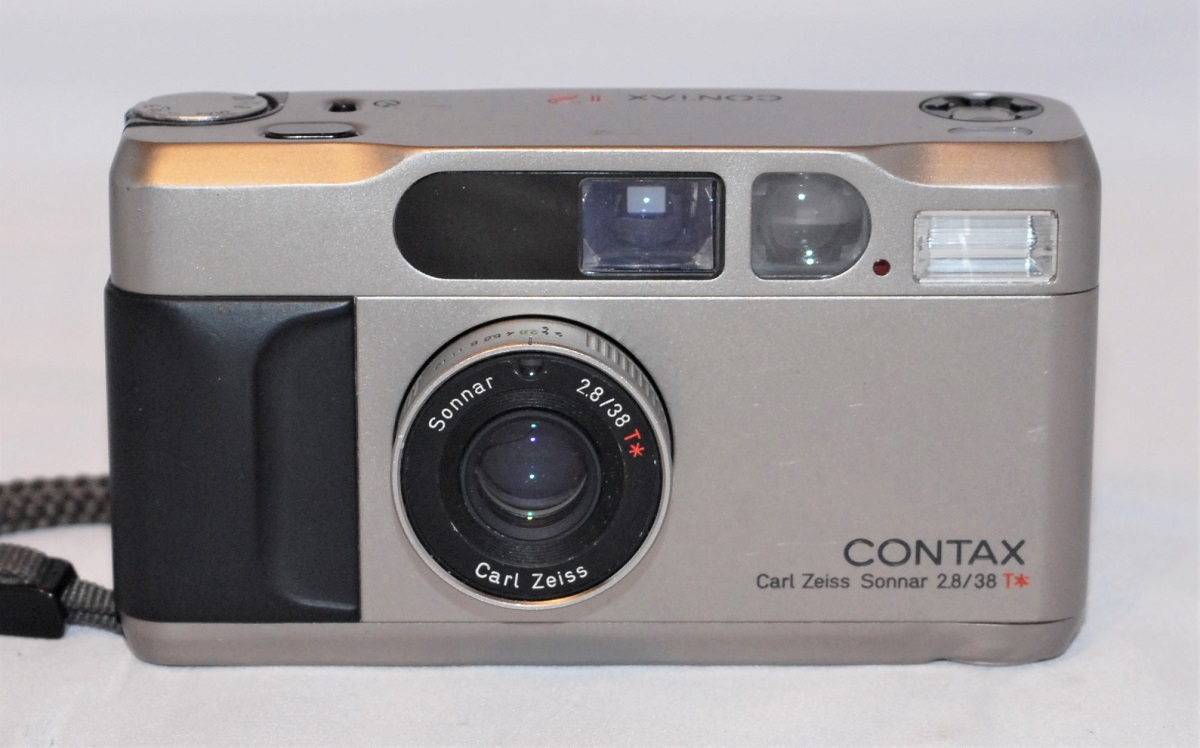 Contax T2. Excellent condition. SOLD
