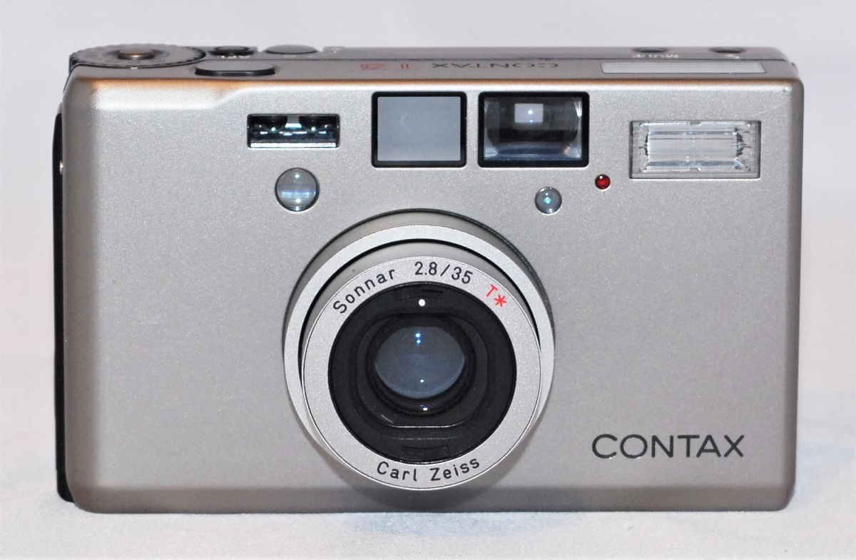 Contax T3. Includes case. Excellent condition. SOLD