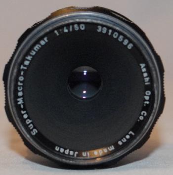 Pentax super macro Takumar 50mm f4