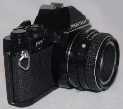Pentax MV with f2 50mm