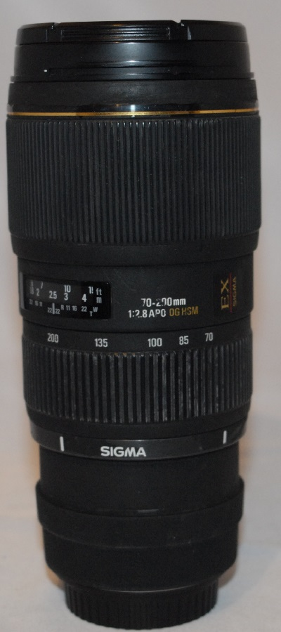 Sigma f2.8 70-200mm
