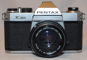 Pentax K1000 + 50mm f2 SOLD