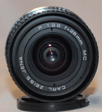 Carl Zeiss Jena 28mm f2.8 (EF mount)
