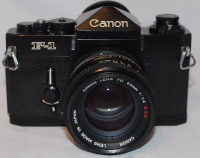 Canon F-1 with 50mm f1.4 S.S.C lens