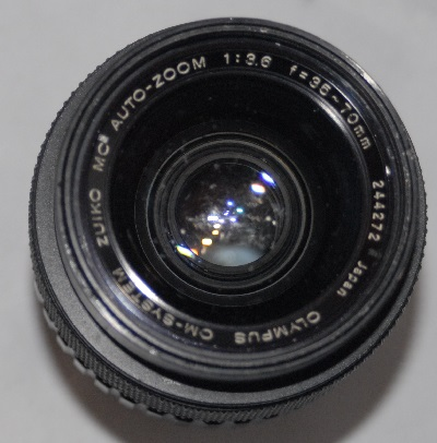 Olympus Zuiko 35mm-70mm f3.6 (front element marked)