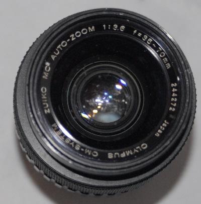 Olympus Zuiko 35mm-70mm f3.6 (front element marked)