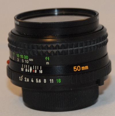 Minolta 50mm 1.7