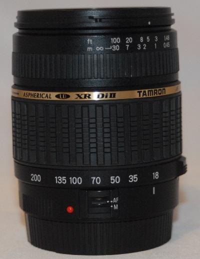 Tamron AF 18mm-200mm f3.5/6.3 Macro