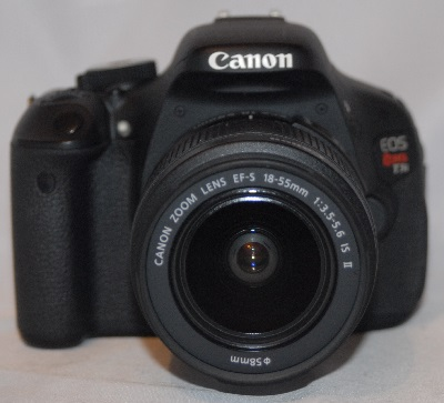 Canon EOS rebel T3i/EOS 600D with 18mm-55mm f3.5-5.6 lens