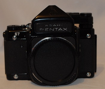 Pentax 67 (with mirror up) + meter head