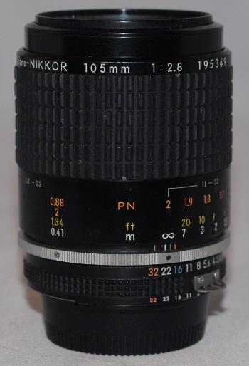 Nikon micro f2.8 105mm