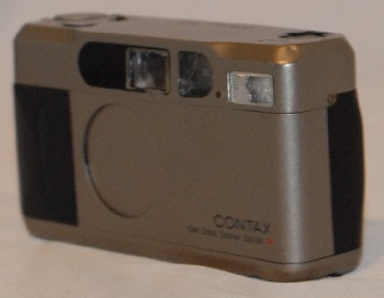 Contax T2 (with box) (flash is not working) (one month warranty)
