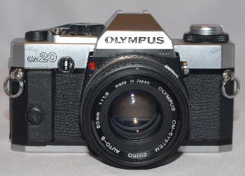 Olympus om20 + 50mm f1.8 lens sold