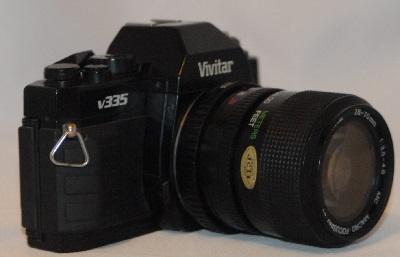 Vivitar V335 with 28-70mm f3.5 (PK fit)