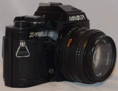 Minolta X-700 with 50mm f1.4 (SOLD)