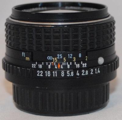 Pentax 50mm 1.4