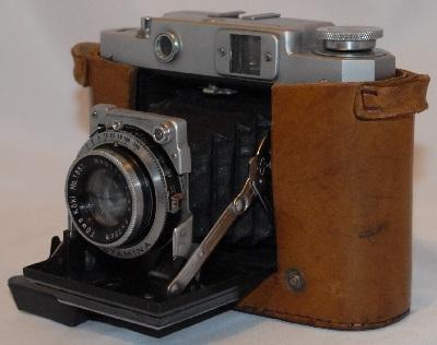 Mamiya-6 with case 6x6