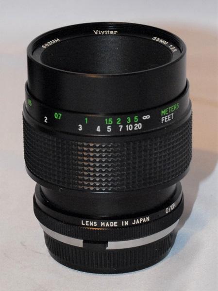 Vivitar 55mm f2.8 macro (excellent condition)
