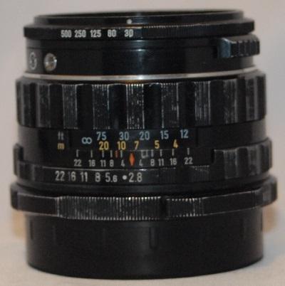 PENTAX 67 6X7 ASAHI S.M.C TAKUMAR 90mm F2.8 LS LEAF SHUTTER LENS for 67 67II