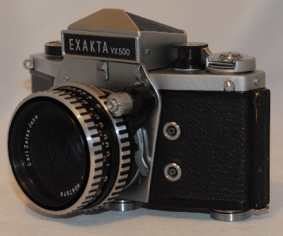 Exakta VX500 with Carl Zeiss Jena 50mm f2.8
