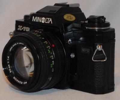 Minolta x_700 50mm f1.4 (SOLD)