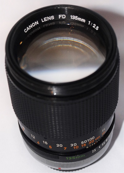 Canon 135mm f2.5