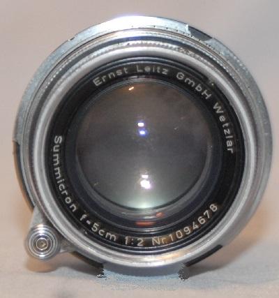 Leica Summicron 5cm f2