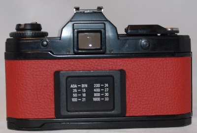 Yashica FX-D Quart with 50mm f2 (RED)
