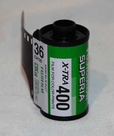 Fujicolor Superia X-TRA ISO 400 35mm (36 exposures)