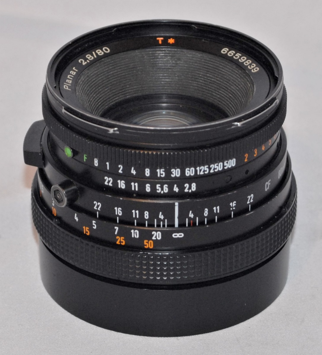 Hasselblad Planar T* 80mm f2.8 lens. Excellent condition.