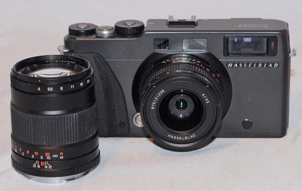 Hasselblad X Pan II + 45mm f4 lens + 90mm f4 lens (Near mint condition. Shutter Count: 350) - SOLD