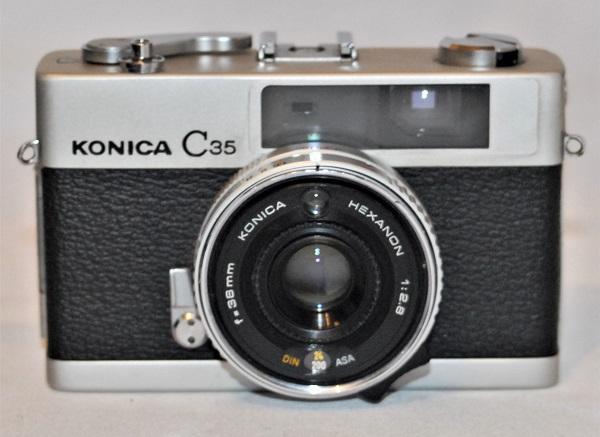 Konica C35. Excellent condition.