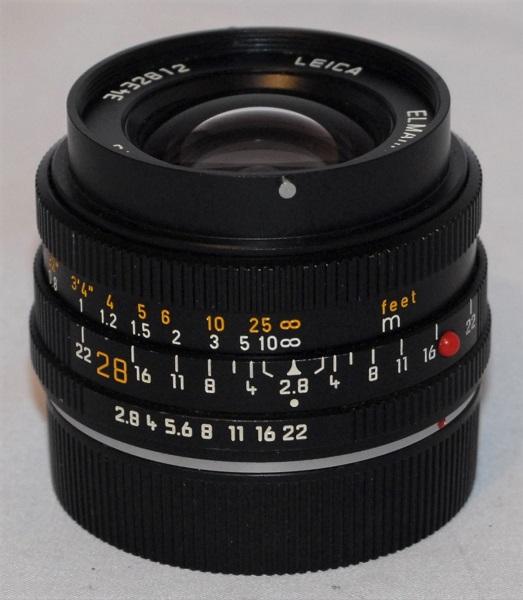 Leica Elmarit-R 28mm f2.8 (excellent condition)