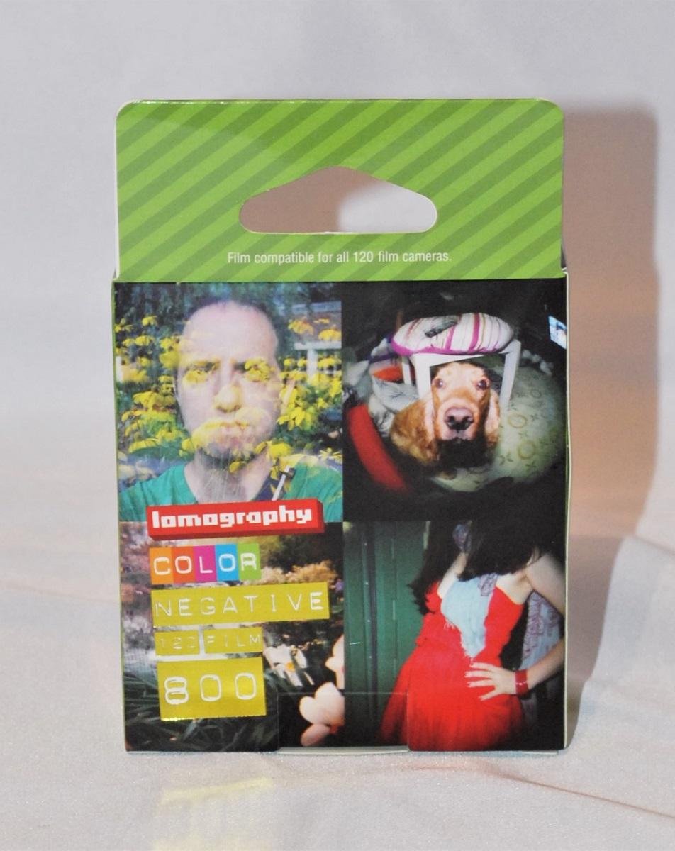 Lomography Color Negative 120 Film 800 (3 pack) SOLD