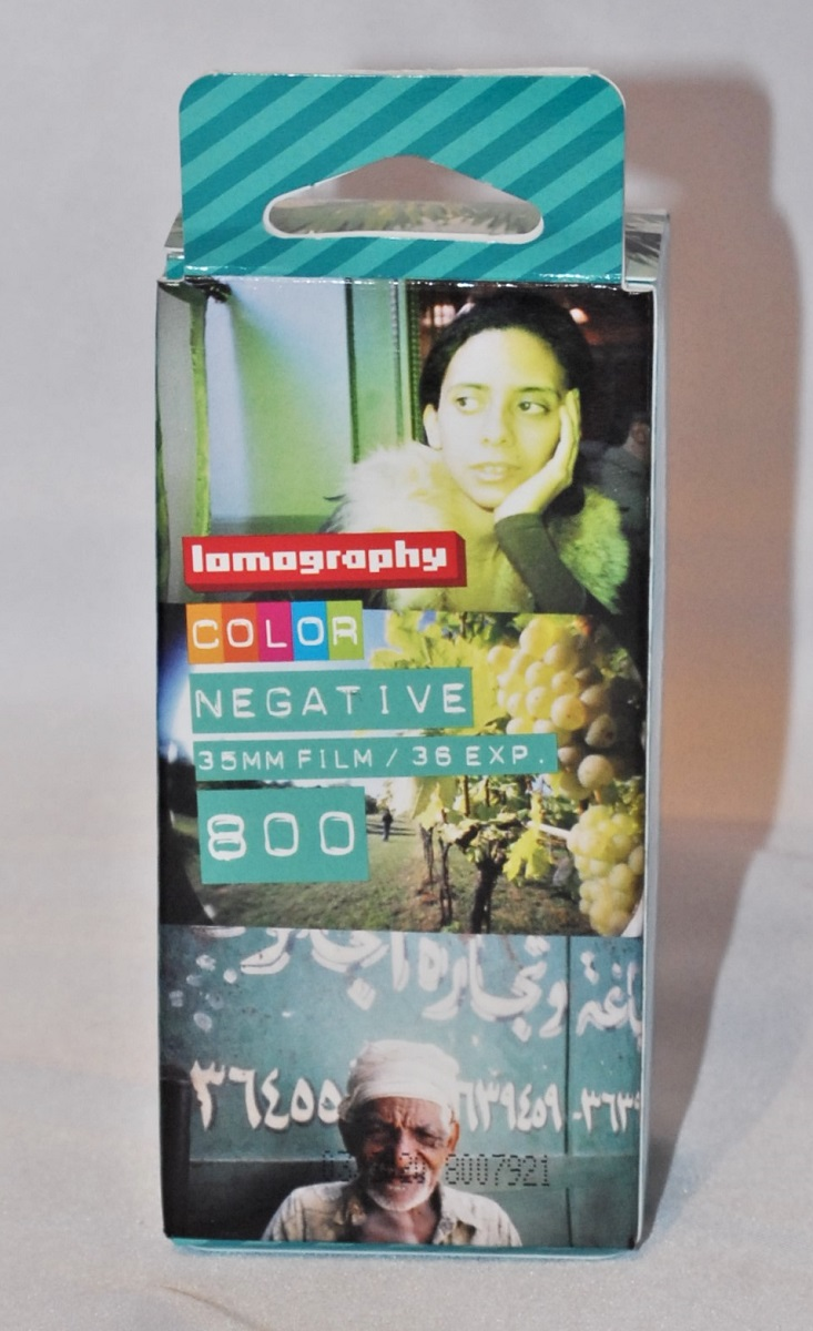 Lomography Color Negative 35mm film/36 exposures 800 (3 pack)SOLD