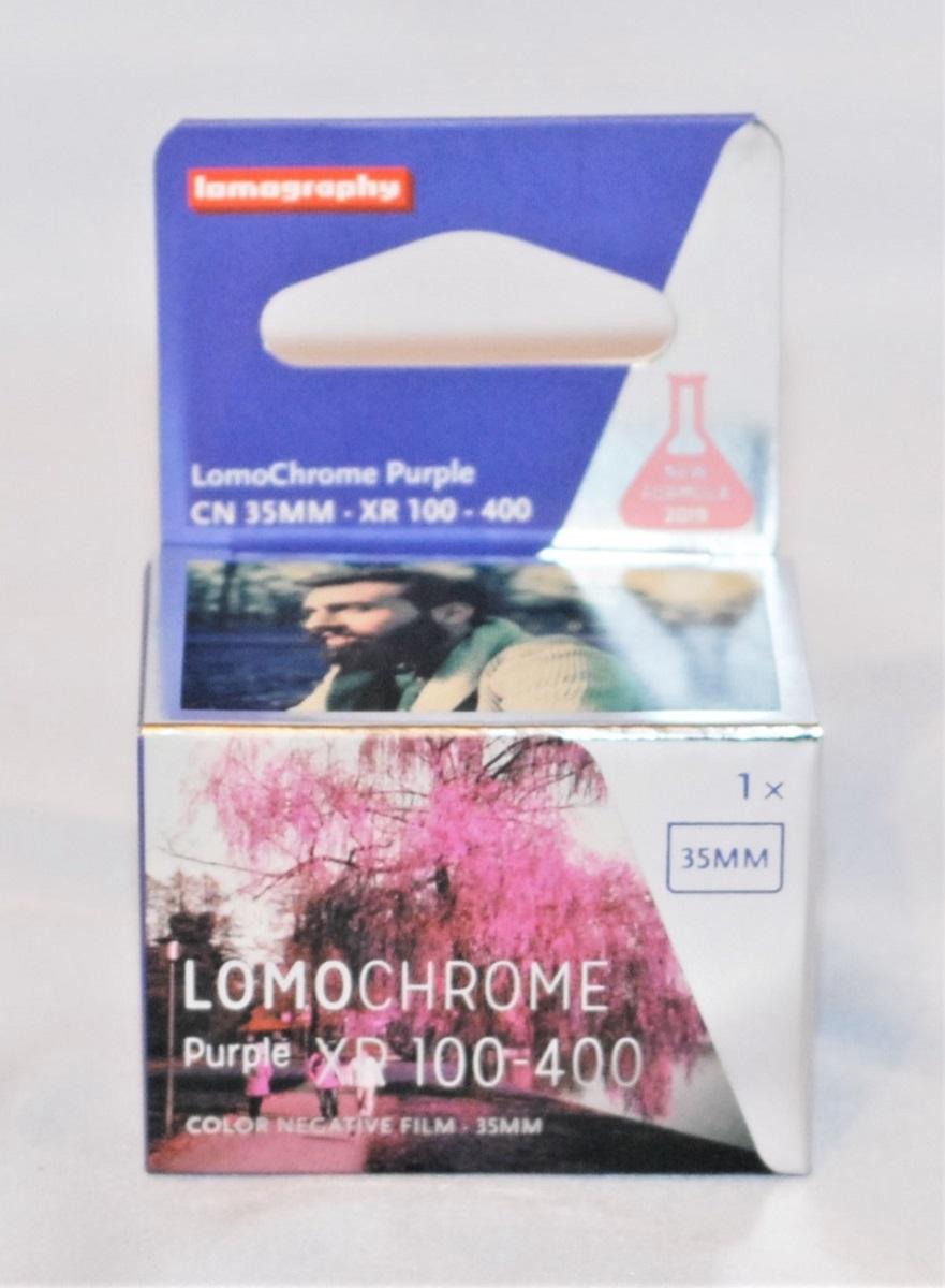 Lomochrome Purple XR 10-400 (35mm, 36 exposures).