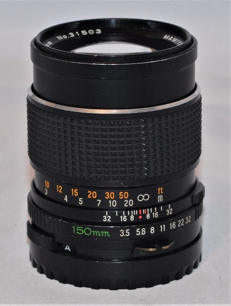 Mamiya Sekor C 150mm F3.5 for Mamiya 645. (Excellent condition) SOLD
