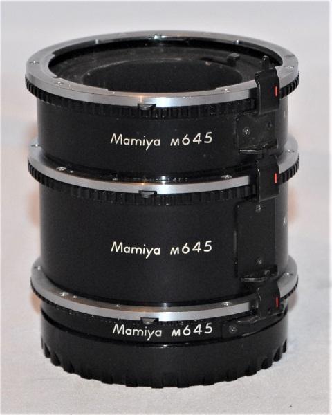 Mamiya extension tube set (for Mamiya 645)